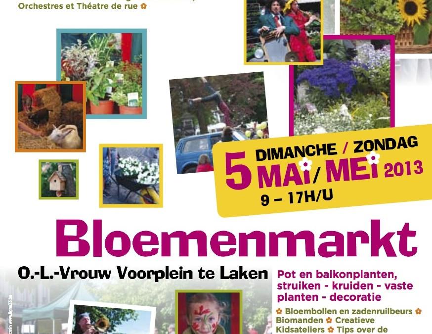 Marché Floral de Laeken 2013 : une réussite !
