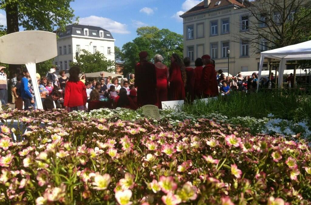 Douzième marché floral de Laeken