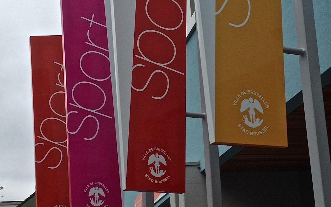 Un complexe sportif rénové au coeur de Laeken