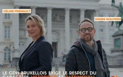 Aménagement de la place royale : le cdh bruxellois demande un retour au plan initial déposé par Beliris